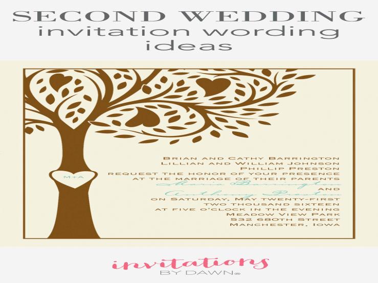 Second Wedding Invitation Wording Elegant the Latest Trend In Wedding Invitation Wording for Second