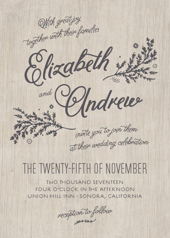 Second Wedding Invitation Wording Lovely Get Inspired From 10 Wedding Invitation Styles for Second