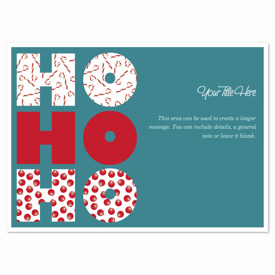Secret Santa Invitation Template Inspirational Ho Ho Ho Invitations & Cards On Pingg
