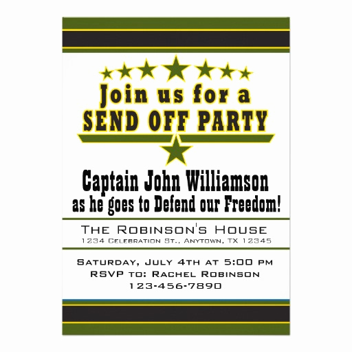 Send Off Party Invitation Lovely Deployments Goodbye Quotes Quotesgram