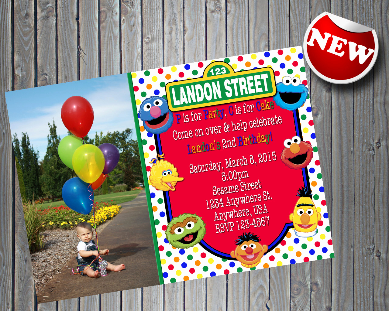 Sesame Street Birthday Invitation Templates Awesome Sesame Street Invitation with Printable Sesame Street