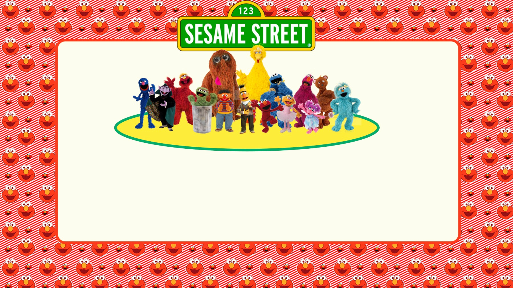 Sesame Street Invitation Template Lovely Free Printable Sesame Street Invitation Templates
