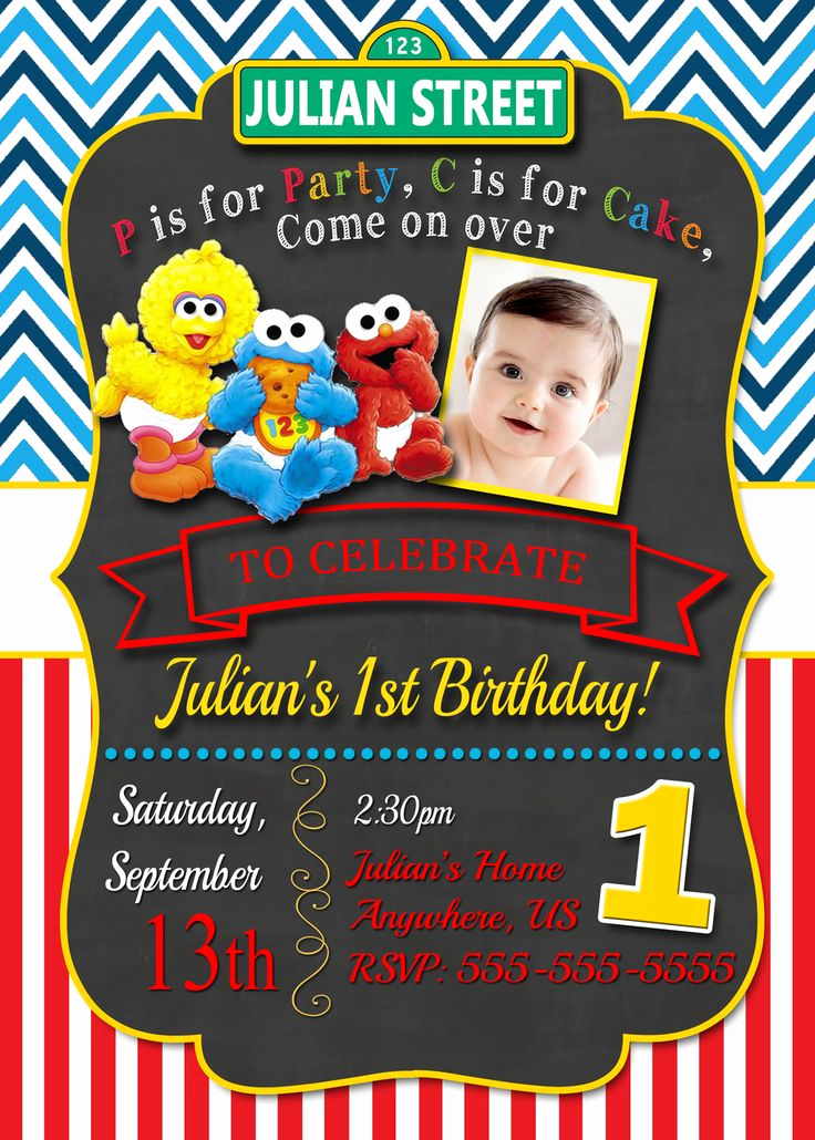 Sesame Street Invitation Templates Fresh Best 25 Elmo Birthday Invitations Ideas On Pinterest