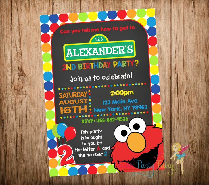 Sesame Street Invitation Templates Luxury Best 25 Elmo Birthday Invitations Ideas On Pinterest