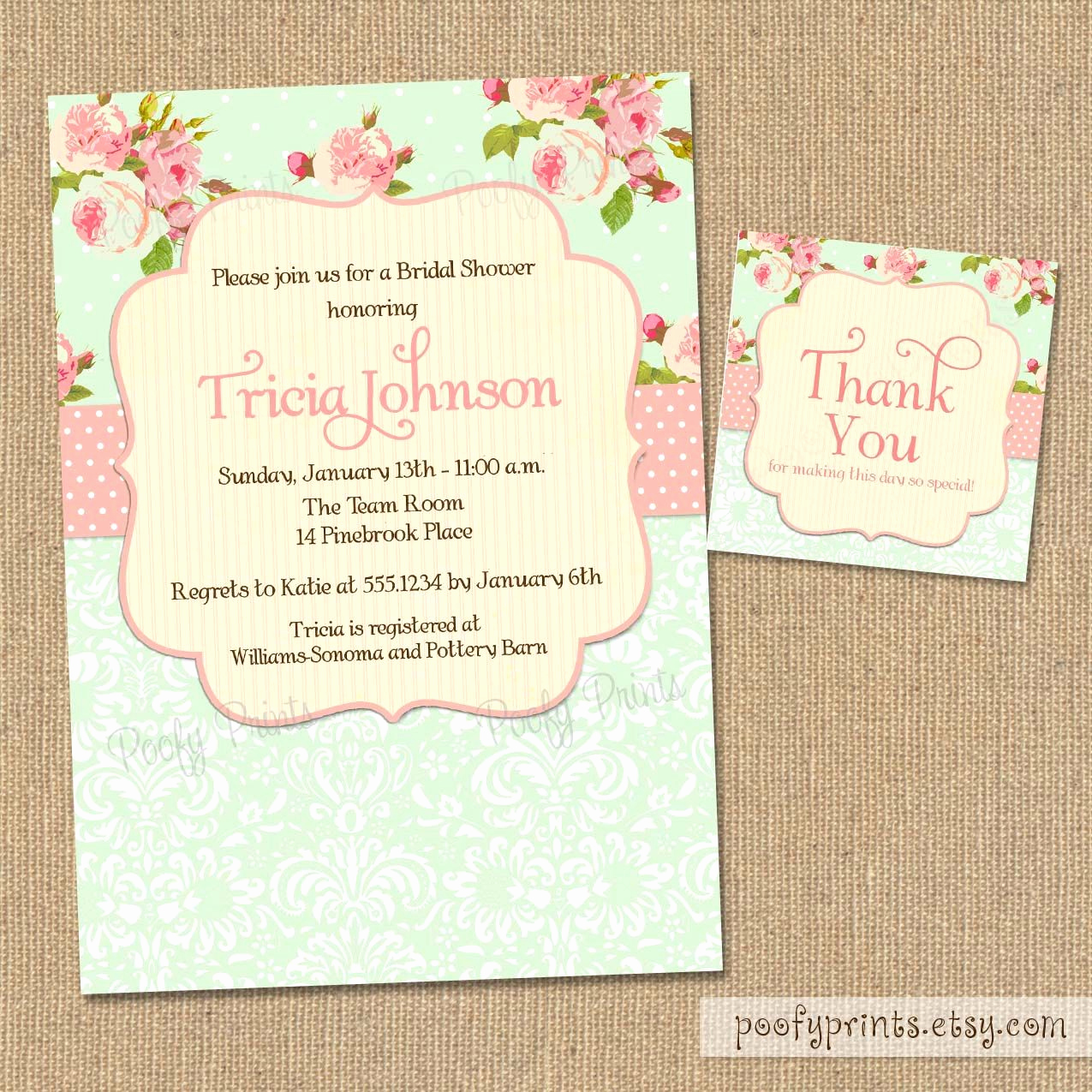 Shabby Chic Baby Shower Invitation Best Of Shabby Chic Bridal Shower Invitations Free Matching