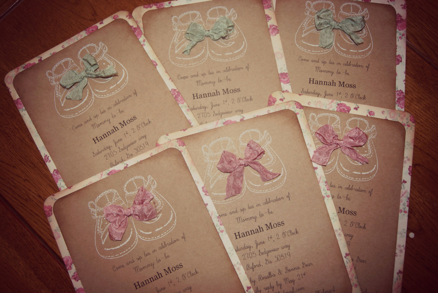 Shabby Chic Baby Shower Invitation Lovely Shabby Chic Baby Shower Invitations Girl