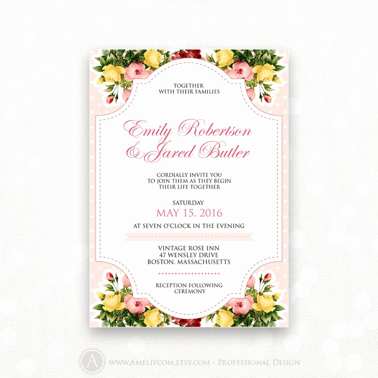 Shabby Chic Invitation Templates Free Beautiful 25 Best Ideas About Shabby Chic Invitations On Pinterest