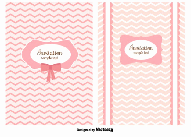 Shabby Chic Invitation Templates Free Beautiful Shabby Chic Invitation Card Vector