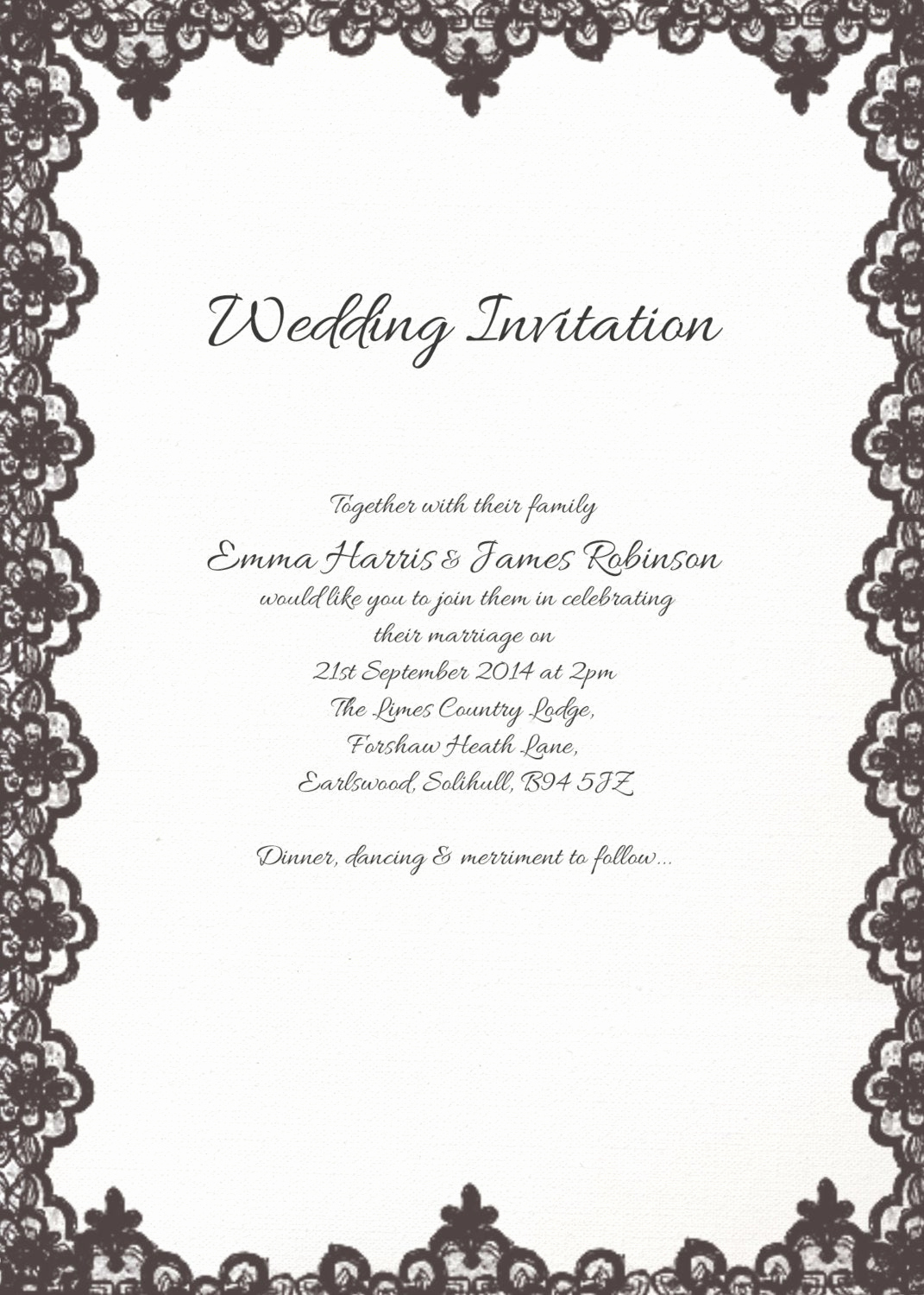 Shabby Chic Invitation Templates Free Best Of Printable Wedding Invitation Printable Template Shabby