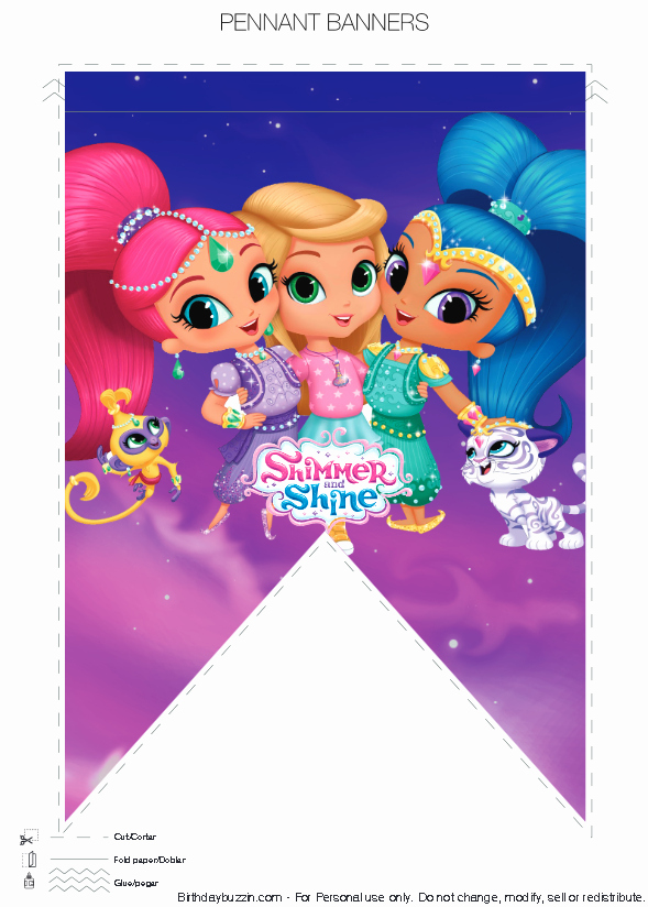 Shimmer and Shine Invitation Template Beautiful Pin by Crafty Annabelle On Shimmer & Shine Printables In