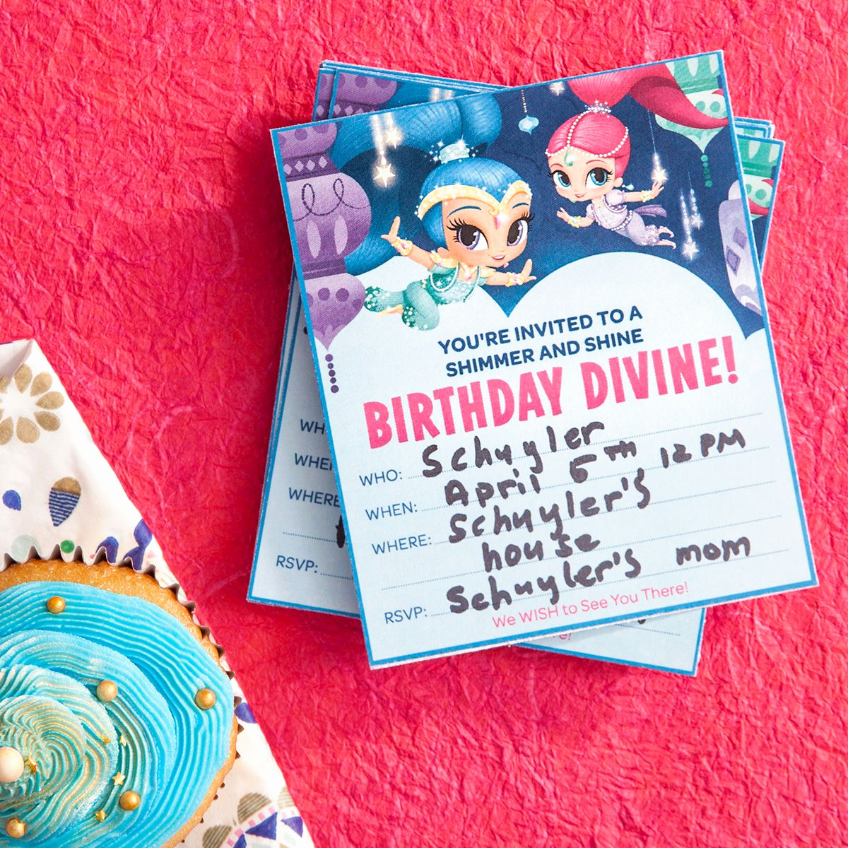 Shimmer and Shine Invitation Template Inspirational Plan A Shimmer and Shine Birthday Party