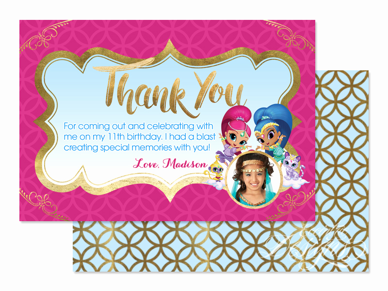 Shimmer and Shine Invitation Template New Eccentric Designs by Latisha Horton Shimmer and Shine