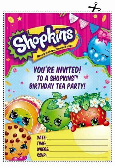 Shopkins Birthday Invitation Template Fresh Best 25 Shopkins Font Ideas On Pinterest