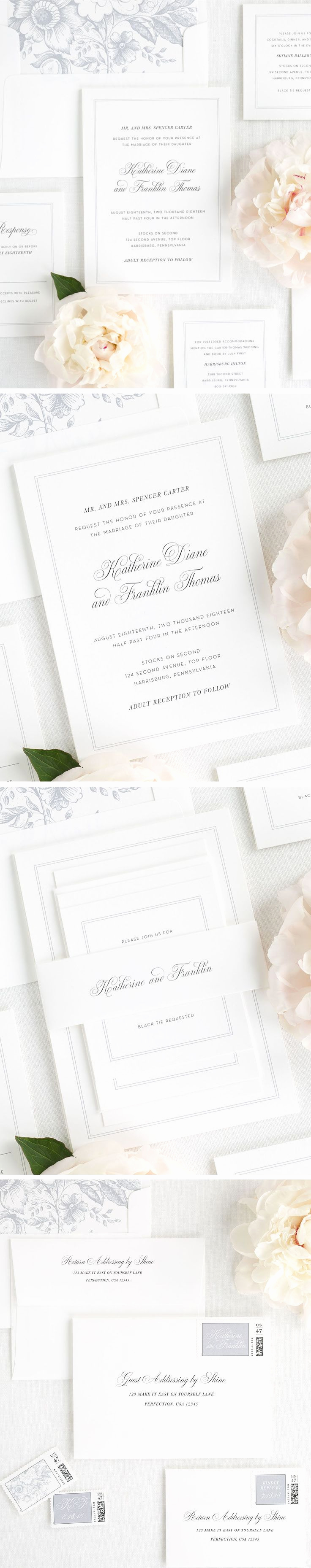 Simple Wedding Invitation Ideas Awesome Best 25 Simple Wedding Invitations Ideas On Pinterest