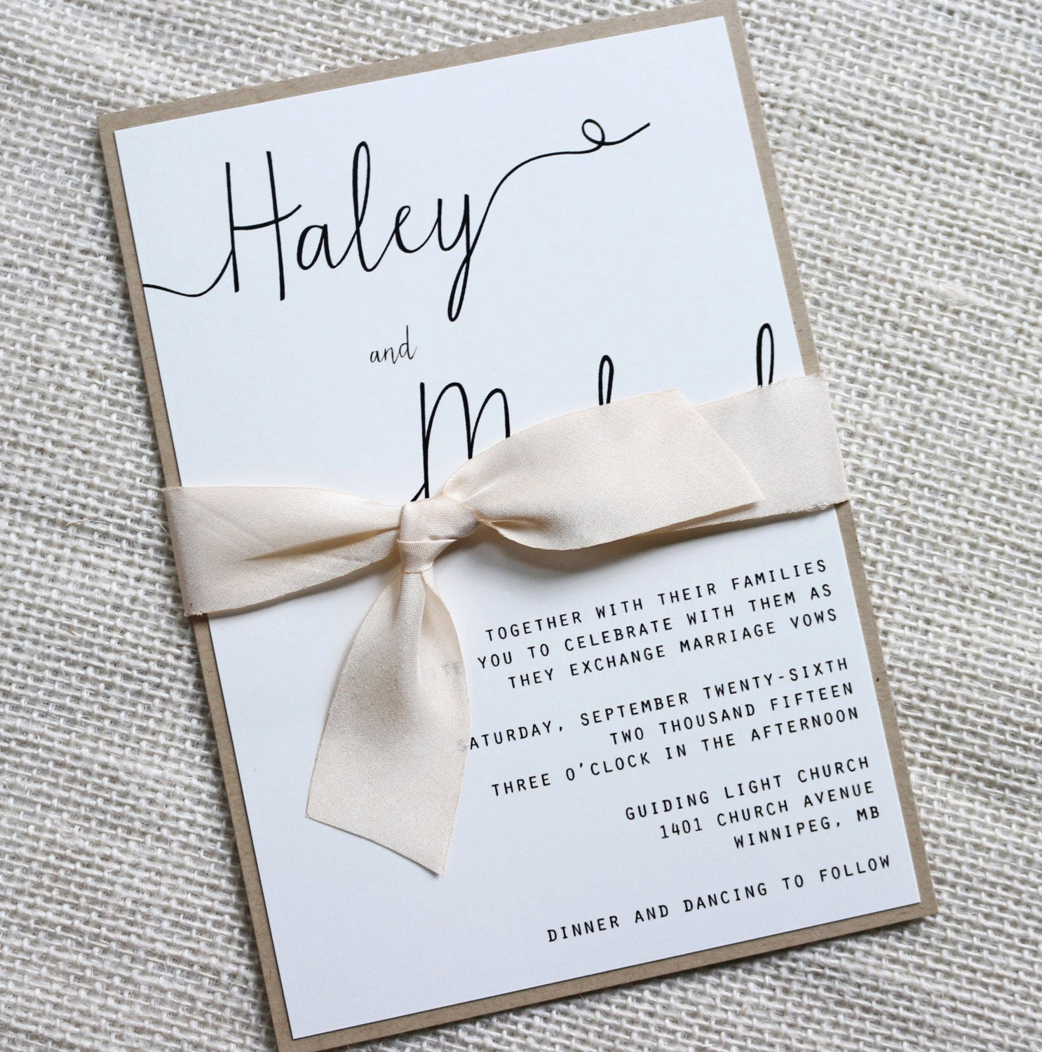 Simple Wedding Invitation Ideas Fresh Modern Wedding Invitation Simple Wedding Invitation Rustic