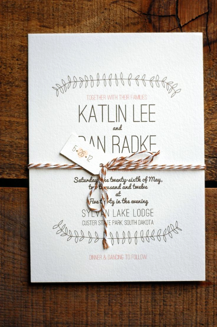 Simple Wedding Invitation Ideas Luxury 56 Best Einladungen Images On Pinterest