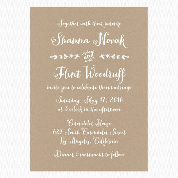 Simple Wedding Invitation Ideas Luxury Wedding Invitation Wording that Won T Make You Barf