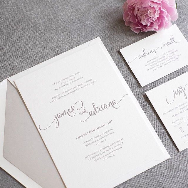 Simple Wedding Invitation Ideas New Best 25 Simple Wedding Invitations Ideas On Pinterest