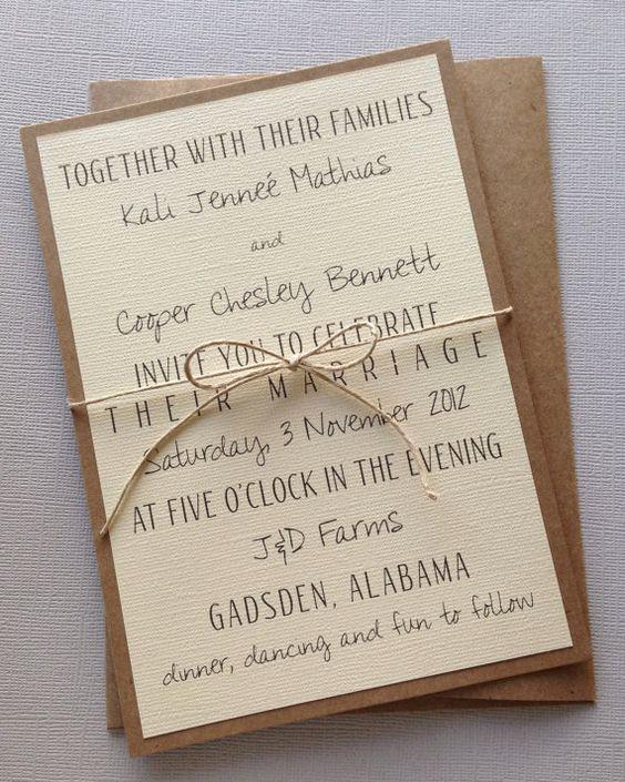 Simple Wedding Invitation Wording Best Of Rustic Modern Wedding Invitations