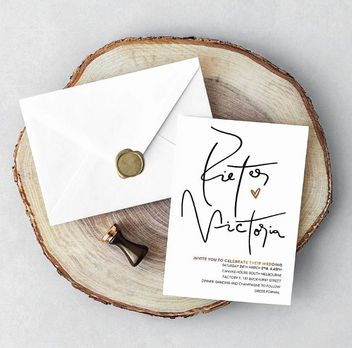 Simple Wedding Invitation Wording Elegant Wedding Invitation Wording Examples to Inspire You