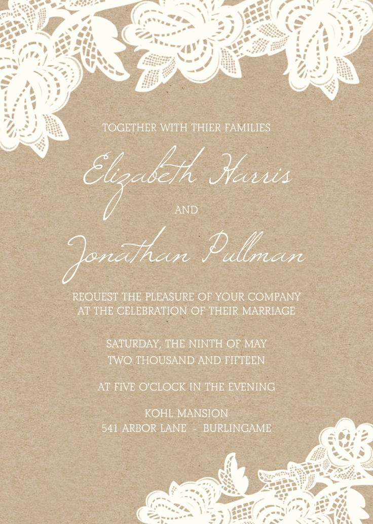 Simple Wedding Invitation Wording Inspirational Best 25 Wedding Invitation Wording Ideas On Pinterest