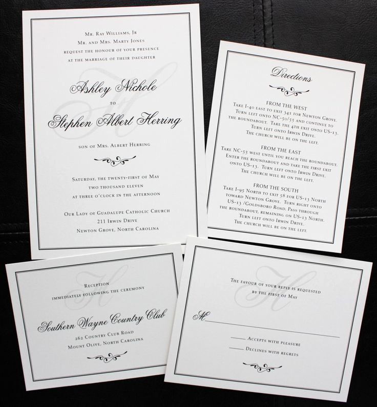Simple Wedding Invitation Wording Lovely 31 Best Images About Simple Wedding Invitations On