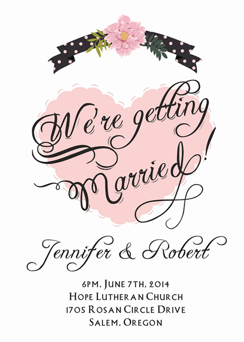 Simple Wedding Invitation Wording New Cheap Simple Wedding Invitations Line