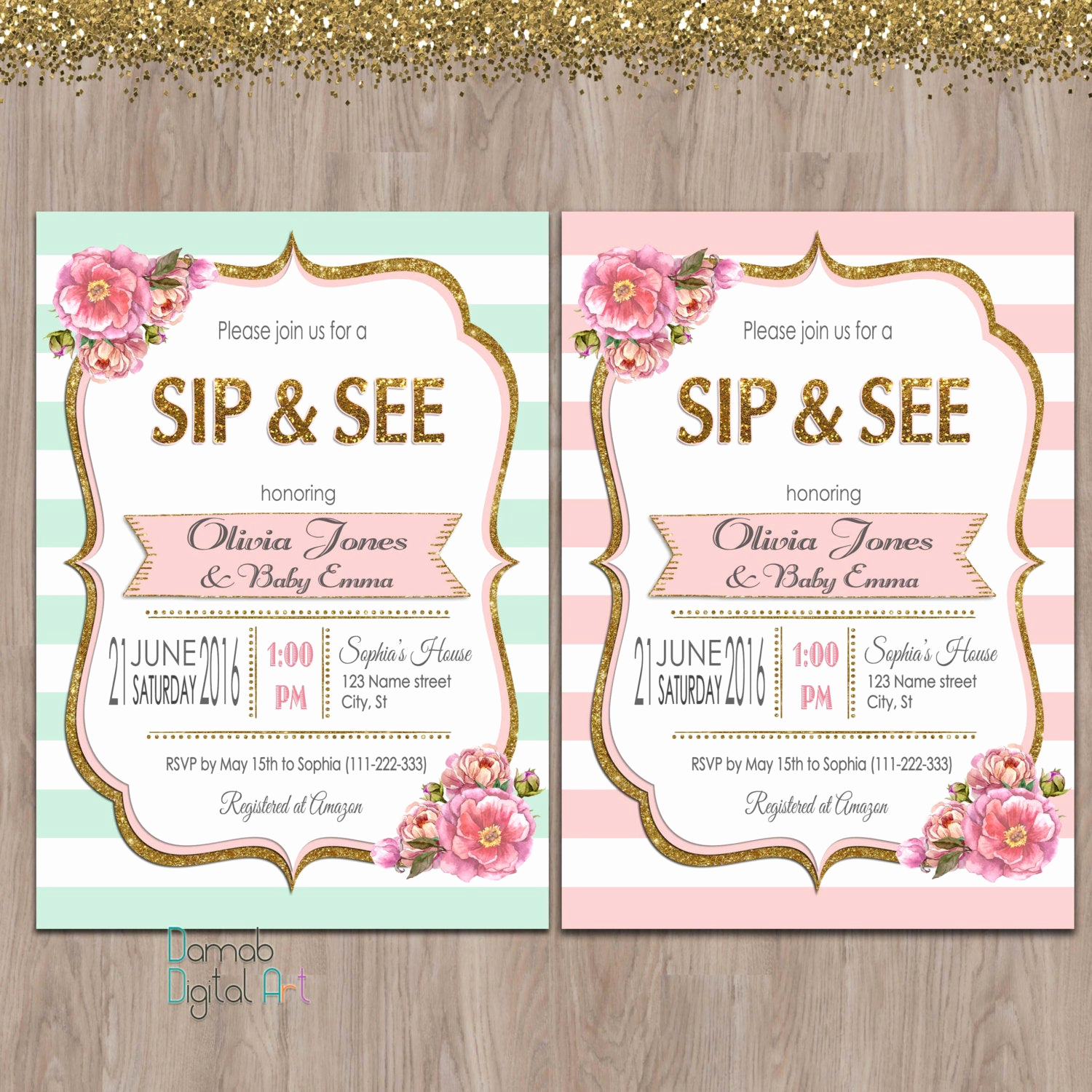 Sip and See Invitation Wording Inspirational Sip and See Invitation Girl Sip & See Invitation Meet the