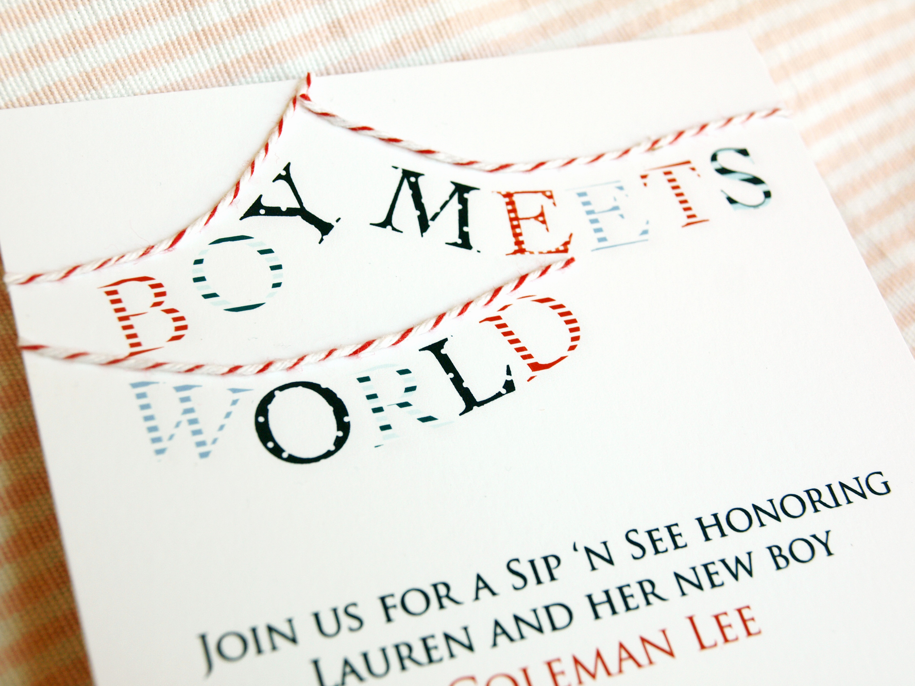 Sip and See Invitation Wording New Pink Peppermint the Blog