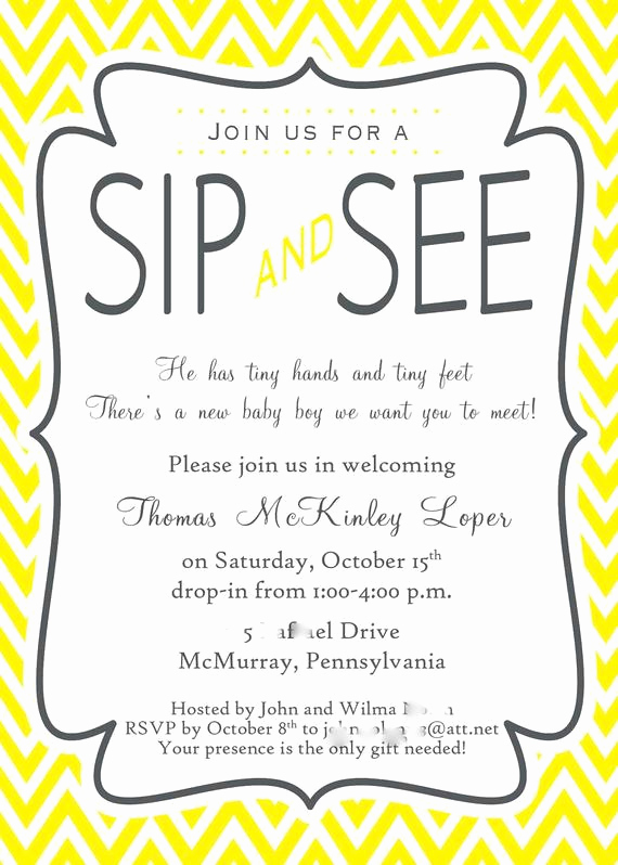 Sip and Shop Invitation New Unavailable Listing On Etsy