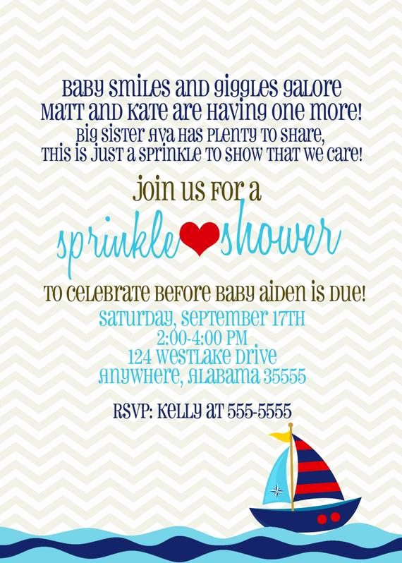 Sip N See Invitation Wording Awesome Baby Sprinkle Baby Shower Sip N See Invitation Baby Boy or