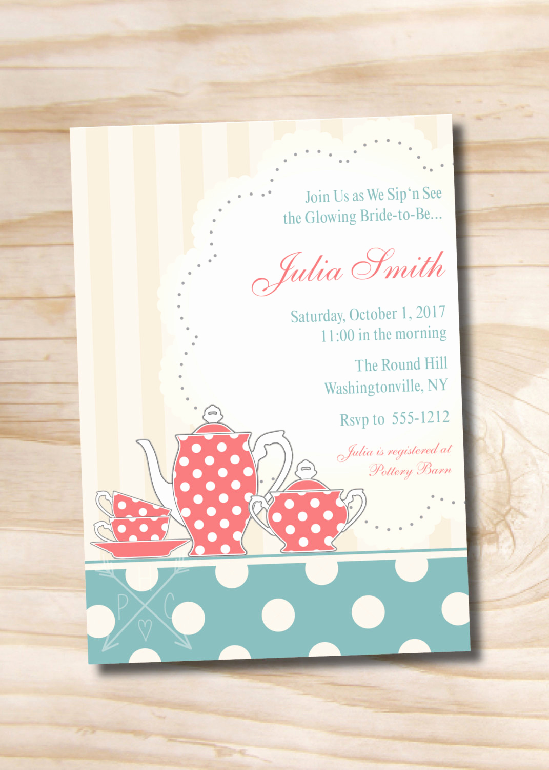 Sip N See Invitation Wording Awesome Vintage Tea Time Sip N See Shower Invitation Bridal Shower