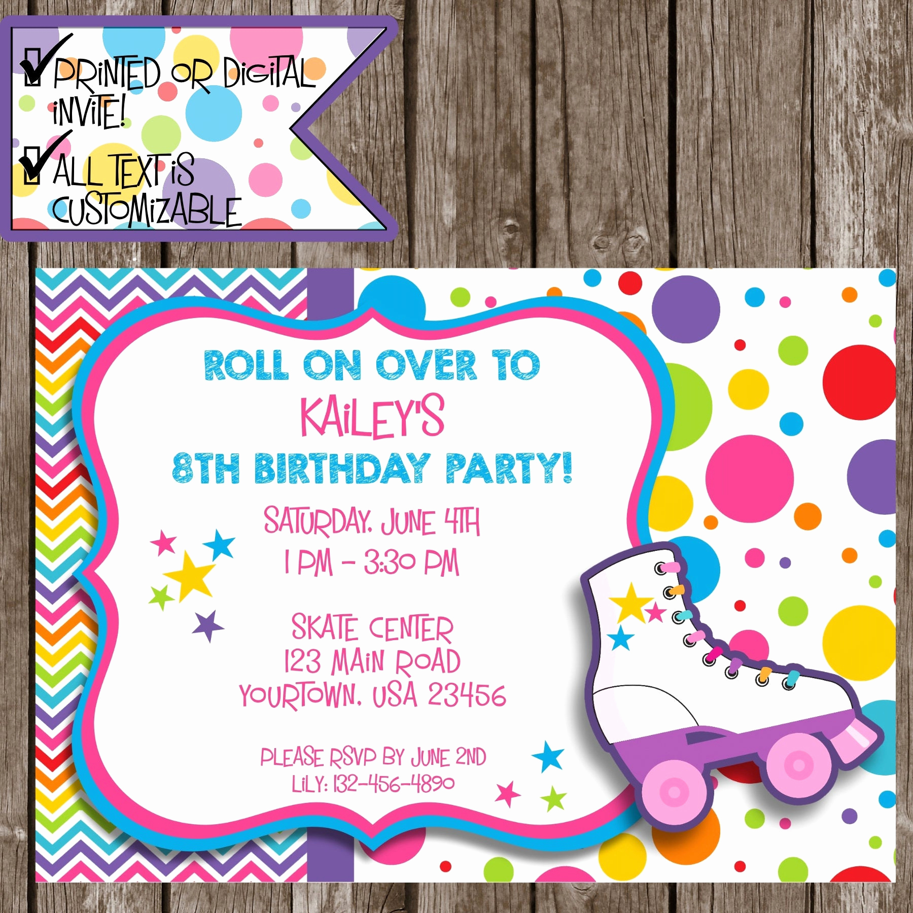 Skate Party Invitation Wording Fresh Roller Skating Invitation Roller Skating Party Skating Party