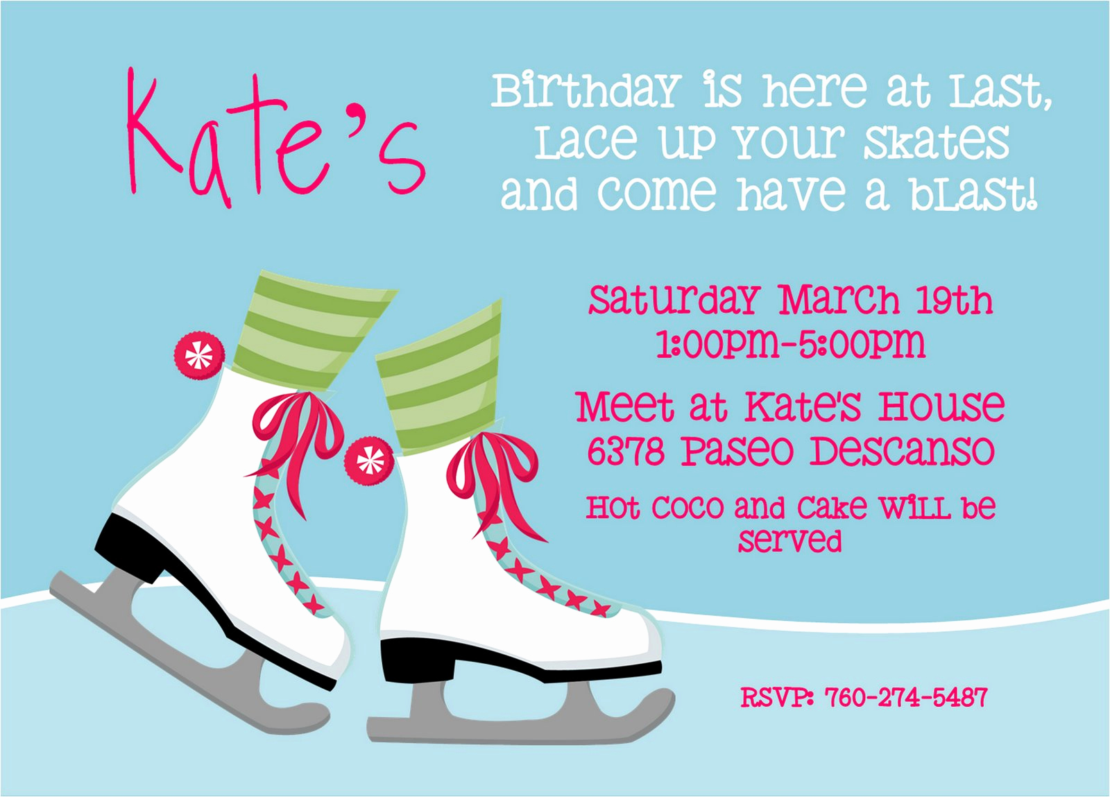 Skate Party Invitation Wording Inspirational Wait I for Kate S Skate Party