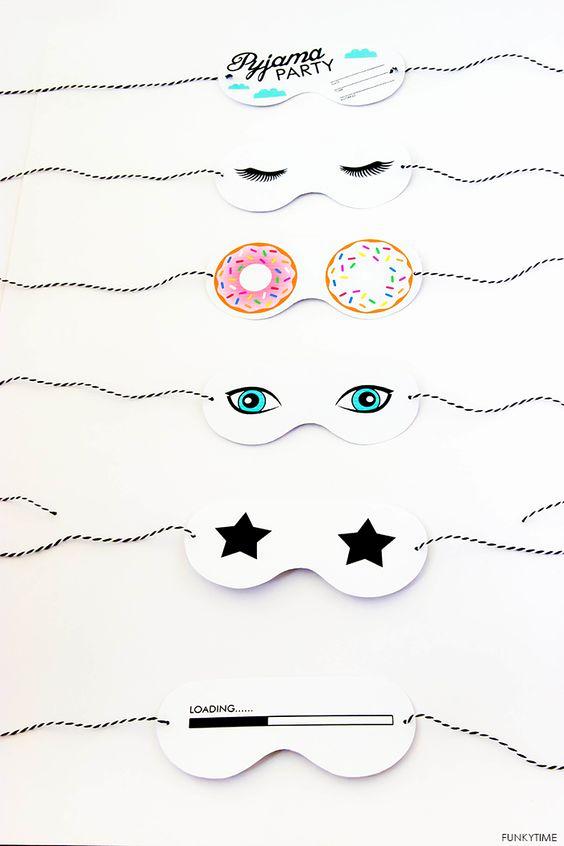 Sleep Mask Invitation Template Best Of Pinterest • the World's Catalog Of Ideas