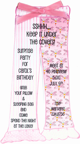 Slumber Party Invitation Ideas Best Of Easy Pretend Sleepover Half Slumber Party Ideas