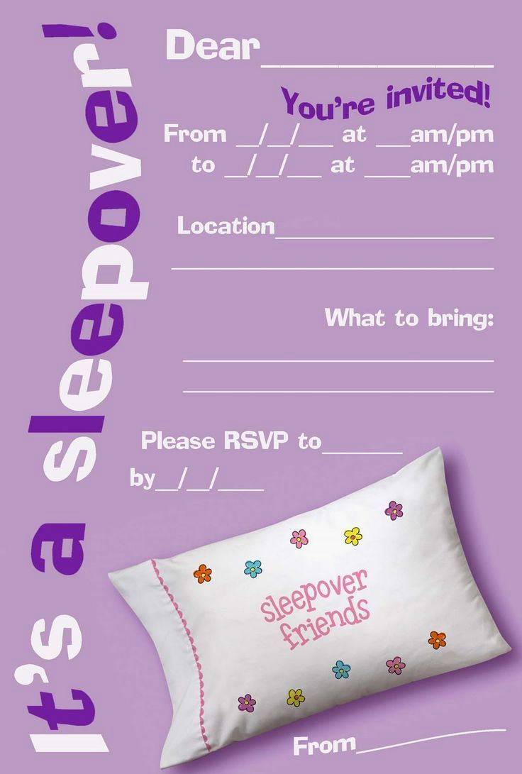Slumber Party Invitation Ideas Fresh 1000 Ideas About Slumber Party Invitations On Pinterest