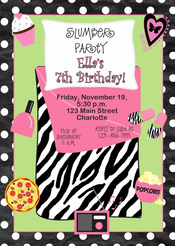 Slumber Party Invitation Ideas Unique 1000 Ideas About Slumber Party Invitations On Pinterest