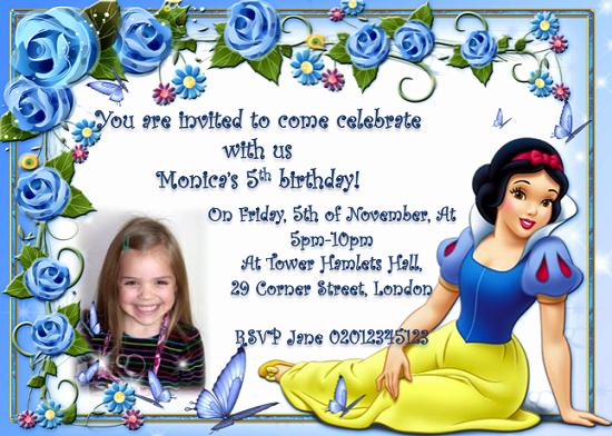 Snow White Invitation Template Elegant Snow White Birthday Invitations Ideas – Free Printable