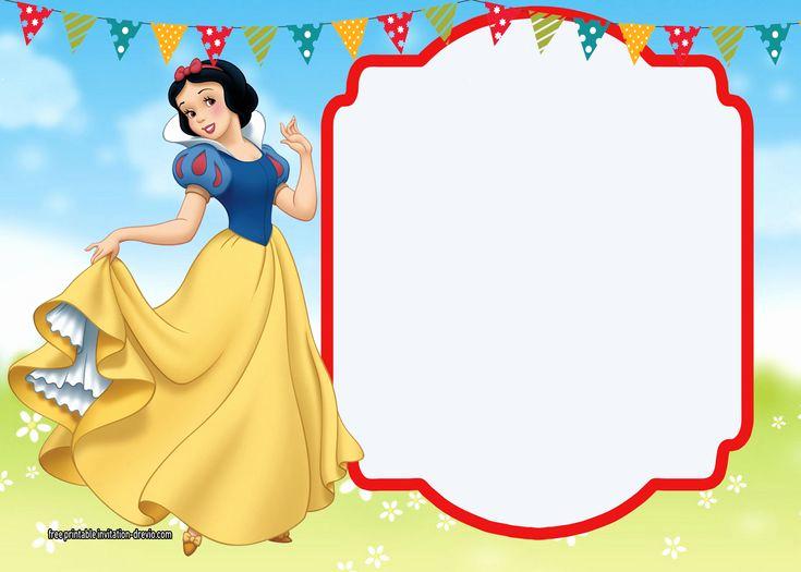 Snow White Invitation Template Fresh Best 25 Snow White Invitations Ideas On Pinterest