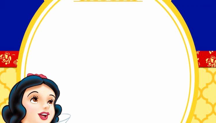 Snow White Invitation Template New Free Printable Snow White Princess Royal Invitation