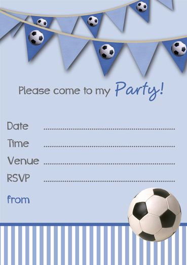 Soccer Invitation Template Free Fresh Free Printable Football Party Invitation Templates