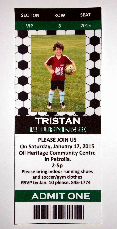 Soccer Invitation Templates Free Elegant Free soccer Party Invitation Templates