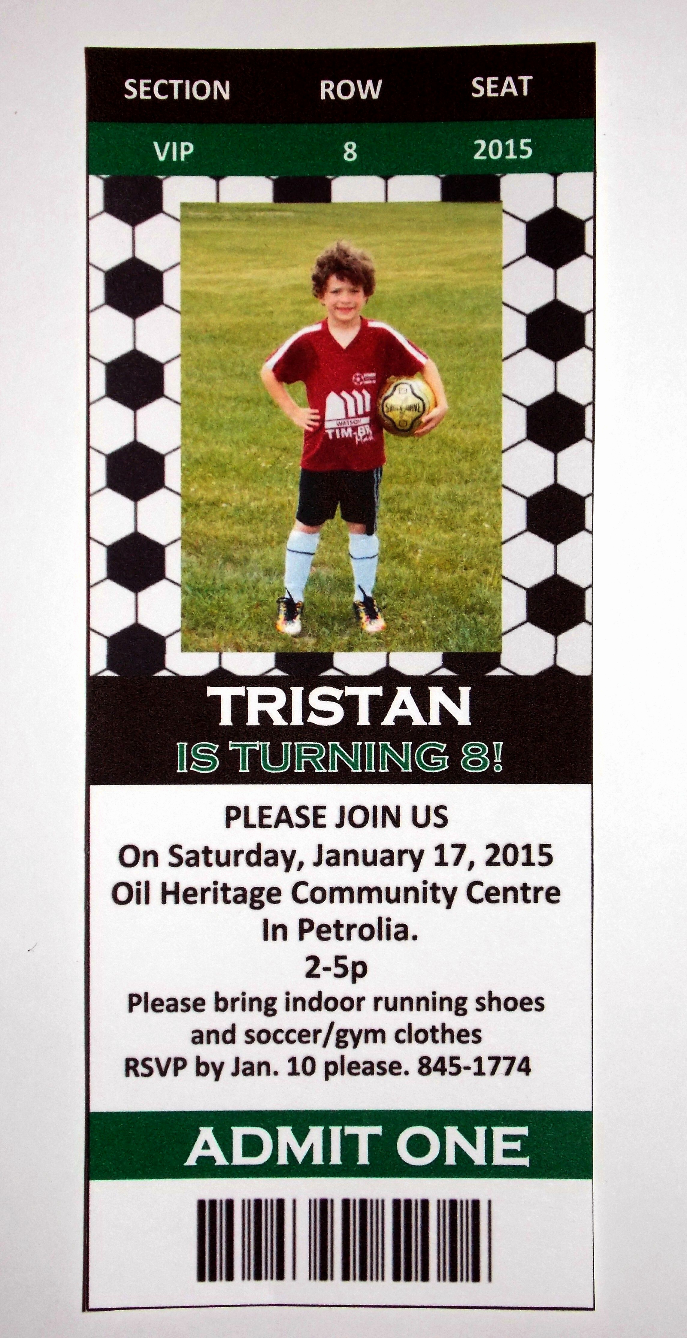 Soccer Invitation Templates Free Lovely Free soccer Party Invitation Templates