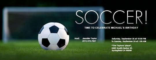 Soccer Invitation Templates Free New Fantasy Sports & Leagues Line Invitations