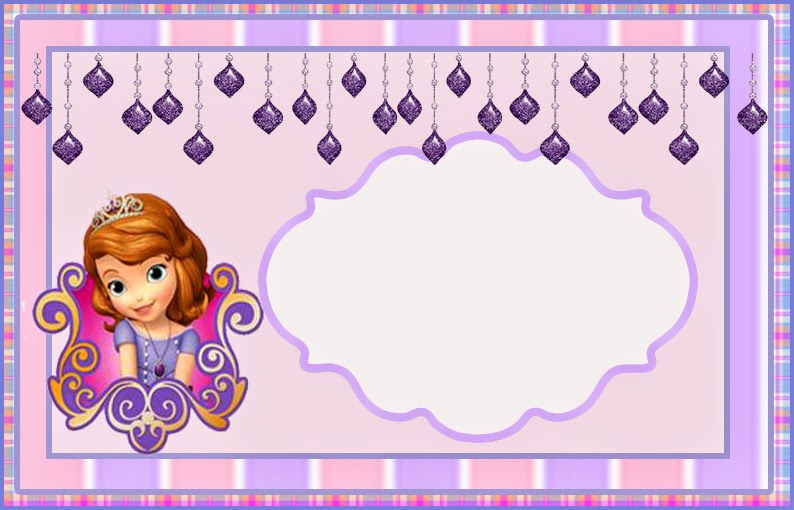 Sofia the First Invitation Template Unique sofia the First Free Printable Invitations or Frames