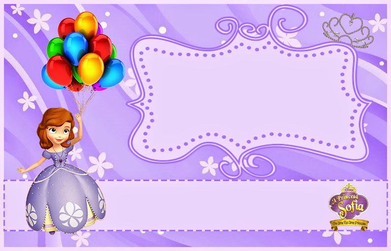 Sofia the First Invitation Templates Elegant sofia the First Free Printable Invitations or Frames