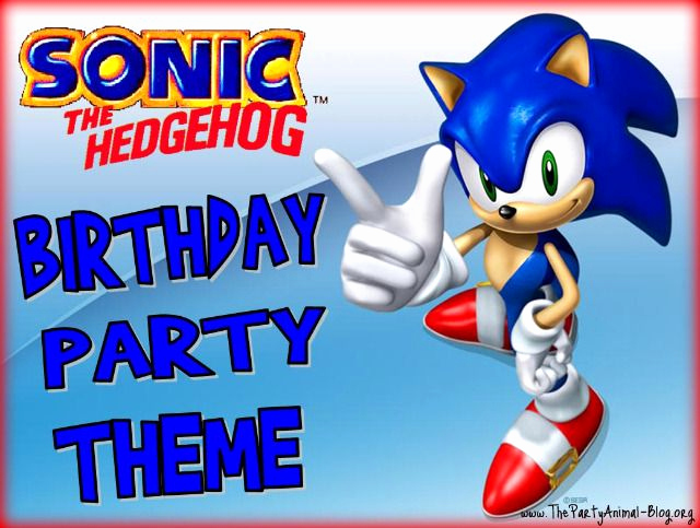 Sonic the Hedgehog Invitation Template Elegant 39 Best Images About sonic Party On Pinterest