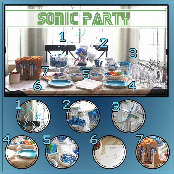Sonic the Hedgehog Invitation Template Unique sonic the Hedgehog Party Ideas