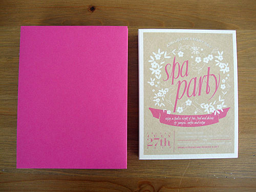 Spa Party Invitation Templates Best Of Libbie Grove Design Free Printable Spa Party